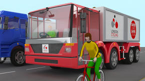 A Safe New Design To Keep Trucks From Killing Cyclists