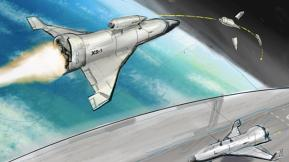 DARPA Dreams Of The Shuttle's Successor: An Experimental Spaceplane