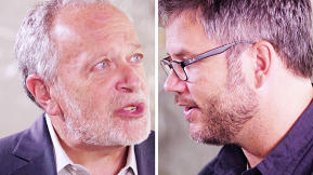 "Creative Conversation: Robert Reich and Jacob Kornbluth, From the New Documentary ""Inequality For All"""