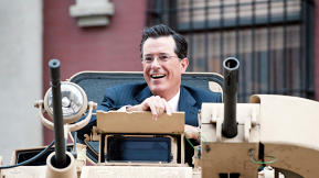 "Hachette Author Stephen Colbert To Amazon, Jeff Bezos: ""Watch Out, This Means War"""