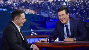 Tim Cook, Elon Musk, Travis Kalanick, And Stephen Colbert's Late-Night Disruption