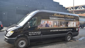 Madame Paulette's Fashion Ambulance Sprints To The Rescue