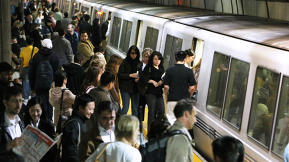 One City's Ambitious Plan To Ease Overcrowded Trains? Pay Riders