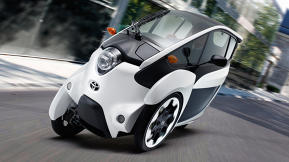 Is Toyota's Tron Lightcycle-Like I-Road The Future Of Urban Car Sharing?