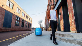 This Rolling Robot Will Carry Your Stuff So It's Not A Hassle To Walk Anywhere