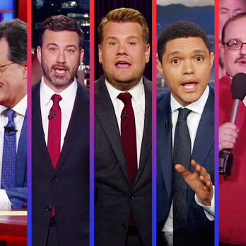 Late Night Roundup: Nasty Puppets, Bad Hombres, And The Third Presidential Debate