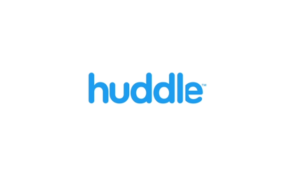 Huddle Is Stepping On Dropbox's Turf
