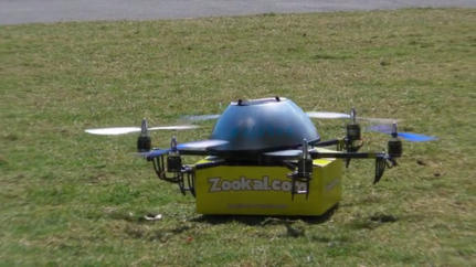 College Textbooks, Now Delivered Via Drone
