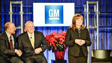 Why GM Is Betting On Mary Barra