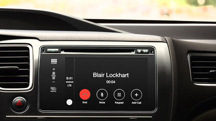 This Is What Apple's IOS Dashboard, CarPlay, Looks Like In Action