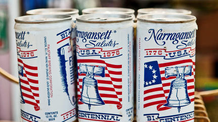 "The Many Pop-Culture Moments Of Narragansett, The ""Forrest Gump Of Beers"""