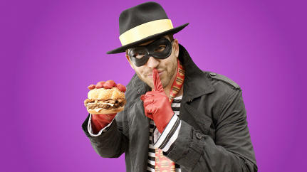 The Story Behind McDonald's Hot, Hipster Hamburglar