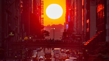 How Neil deGrasse Tyson Discovered Manhattanhenge