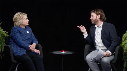 "Hillary Clinton Endures A Hilarious Zach Galifianakis Grilling In ""Between Two Ferns"""