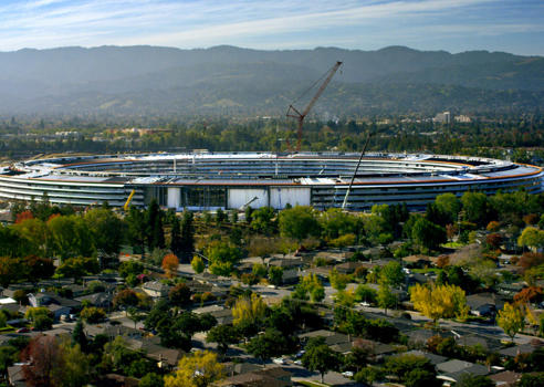 Here Are All The Details On Apple Park, The Company's Massive New Spaceship Campus