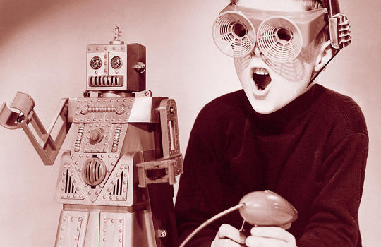 The 1950s Toy Robot Sensation That Time Forgot