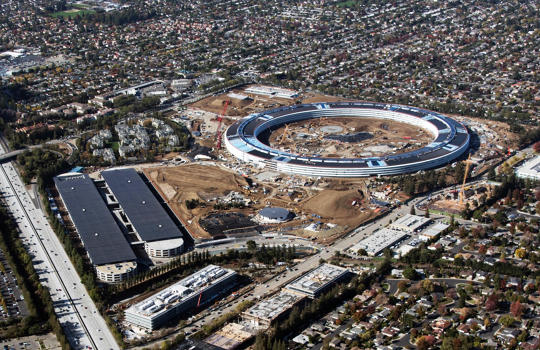 The Huge Interior Of Apple's New Headquarters Is Shown In These Leaked Photos