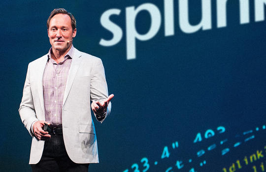 How The CEO Of Big Data Firm Splunk Is Using Data To Boost Social Purpose
