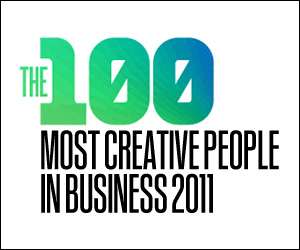 Most Creative People 2011